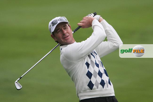 Brett Rumford (AUS) on the 14th on Day 2 of the Omega European Masters 2012, Golf Club Crans-Sur-Sierre, Crans Montana, Switzerland, 31/8/12...(Photo Jenny Matthews/www.golffile.ie)