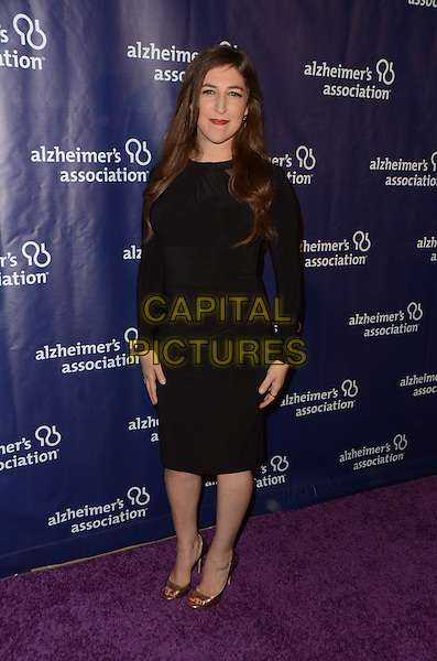 BEVERLY HILLS, CA: MARCH 9: Mayim Bialik at the 24th and final 'A Night at Sardi's' to benefit the Alzheimer's Association at The Beverly Hilton Hotel on March 9, 2016 in Beverly Hills, California. <br /> CAP/MPI/DE<br /> &copy;DE//MPI/Capital Pictures