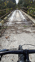 NWA Democrat-Gazette/FLIP PUTTHOFF <br /> Several bridges are along route        Oct. 23 206      of the Frisco Highline Trail, a rails-to-trails conversion near Springfield, Mo.