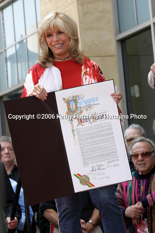 Nancy Sinatra.Nancy Sinatra receives a star on the Hollywood Walk of Fame.Los Angeles, CA.May 11, 2006.©2006 Kathy Hutchins / Hutchins Photo....