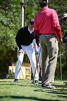 Camilo Villegas (COL) hits first drive on 2 wide right during round 4 of the Valero Texas Open, AT&amp;T Oaks Course, TPC San Antonio, San Antonio, Texas, USA. 4/23/2017.<br /> Picture: Golffile | Ken Murray<br /> <br /> <br /> All photo usage must carry mandatory copyright credit (&copy; Golffile | Ken Murray)