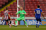 George Long of Sheffield Utd during the U23 Professional Development League match at Bramall Lane Stadium, Sheffield. Picture date: September 6th, 2016. Pic Simon Bellis/Sportimage