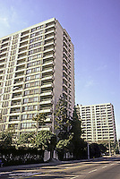 Santa Monica CA: Slab High Rises.  Photo '83.