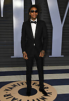 04 March 2018 - Los Angeles, California - Wiz Khalifa. 2018 Vanity Fair Oscar Party hosted following the 90th Academy Awards held at the Wallis Annenberg Center for the Performing Arts. <br /> CAP/ADM/BT<br /> &copy;BT/ADM/Capital Pictures
