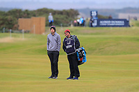 Ashley Chesters (ENG) on the 15th fairway during round 4 of the Alfred Dunhill Links Championship at Old Course St. Andrew's, Fife, Scotland. 07/10/2018.<br /> Picture Thos Caffrey / Golffile.ie<br /> <br /> All photo usage must carry mandatory copyright credit (&copy; Golffile | Thos Caffrey)