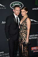 Jamie Bell &amp; Kate Mara at the 2017 AMD British Academy Britannia Awards at the Beverly Hilton Hotel, USA 27 Oct. 2017<br /> Picture: Paul Smith/Featureflash/SilverHub 0208 004 5359 sales@silverhubmedia.com