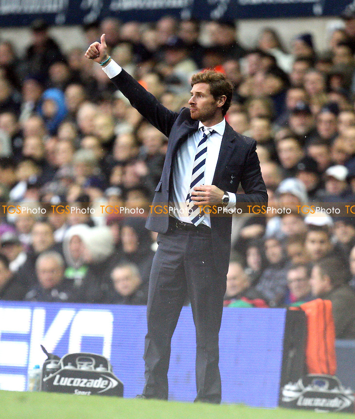 Tottenham Hotspur manager Andre Villas Boas - Tottenham vs Queens Park Rangers at the White Hart Lane  Stadium  - 23/09/12 - MANDATORY CREDIT: Dave Simpson/TGSPHOTO - Self billing applies where appropriate - 0845 094 6026 - contact@tgsphoto.co.uk - NO UNPAID USE.