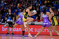 Pulse&rsquo; Karin Burger in action during the ANZ Premiership - Pulse v Northern Stars at Te Rauparaha Arena, Porirua, New Zealand on Monday 25 June 2018.<br /> Photo by Masanori Udagawa. <br /> www.photowellington.photoshelter.com
