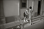 Santiago de Cuba:<br /> Morning street scene