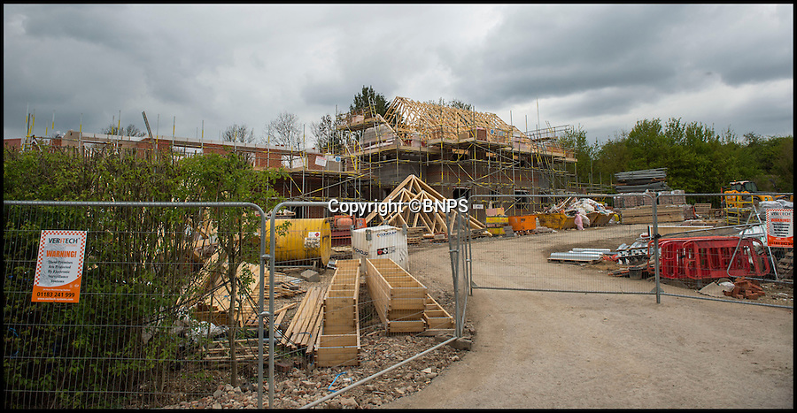 BNPS.co.uk (01202 558833)<br /> Pic: PhilYeomans/BNPS<br /> <br /> The new development is only yards from the River Lambourn.<br /> <br /> There was outrage today after environment bosses gave the green light for sewerage to be pumped into one of the most revered fly fishing rivers in Britain.<br /> <br /> The picturesque River Lambourn in Berkshire has long been a favourite among fishermen, treasured for its crystal clear waters that provide a home to large stocks of wild brown trout and the highly prized grayling.<br /> <br /> But campaigners say the 16-mile river and its inhabitants are now under threat after Environment Agency officials granted developers a permit to discharge effluence from a new luxury housing complex being built on its banks.<br /> <br /> It was thought that waste from the cluster of 10 plush homes at Weston, around seven miles north east of Newbury, would be routed into the main sewer network and stripped of any harmful phosphates.<br /> <br /> However developers Clean Slate said it would cost too much to do and instead proposed to discharge seven cubic metres of 'secondary treated sewage' - in which phosphates are still present - into the river each day.