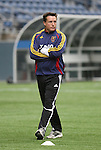 20 November 2009: Assistant coach Ritchie Kotschau. Real Salt Lake held a training session and press conference at Qwest Field in Seattle, Washington in preparation for playing the Los Angeles Galaxy in Major League Soccer's championship game, MLS Cup 2009, two days later.