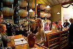 The tasting room is also the barrel room at the Claiborne and Churchill Winery in San Luis Obispo, California December 20, 2014.
