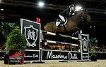 Scott Brash of United Kingdom riding in action during the Longines Speed Challenge competition as part of the Longines Hong Kong Masters on 13 February 2015, at the Asia World Expo, outskirts Hong Kong, China. Photo by Victor Fraile / Power Sport Images