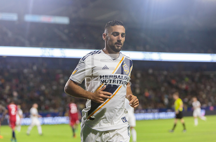 Carson, CA - Wednesday May 30, 2018: FC Dallas defeated the Los Angeles Galaxy 3-2 in a Major League Soccer (MLS) regular season game at StubHub Center.