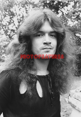 Deep Purple 1973 Glenn Hughes.© Chris Walter.