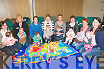 Meet a Mum Group: Meet a  Mum group organized by Listowel Family Resource Centre and Listowel Public Health Nurses pictured at the Family Resource Centre on Wednesday morning for their first meeting. L- R: Pauline Walsh & Ava, Sarah Moriarity & Brendan, Sandra O'Connor & Jay, Marie Kissane & Darragh, Brenda Finnucane  & Odhran, Anne Fitzmaurice & Aisling, Marian Buckley & Ada & Isabel Kennelly & Aoise.