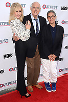 "LOS ANGELES - July 15:  Judith Light, Jeffrey Tambor, Jill Soloway at the ""Transparent"" Season 4 Sneak Peek at Outfest LGBT Film Festival at the Directors Guild of America Theater on July 15, 2017 in Los Angeles, CA"