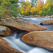 This is the image for the month of October in the 2015 White Mountains New Hampshire calendar. Just above the Lower Ammonoosuc Falls  on the Ammonoosuc River in Carroll, New Hampshire USA. It can be purchased here: http://bit.ly/1audUBp