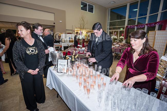 7th annual Valantine's Dinner, Love-A-Fair Ball fundraising event by the Amador County Fair Foundation at St. Katharine Drexel parish hall, Martell, Calif.