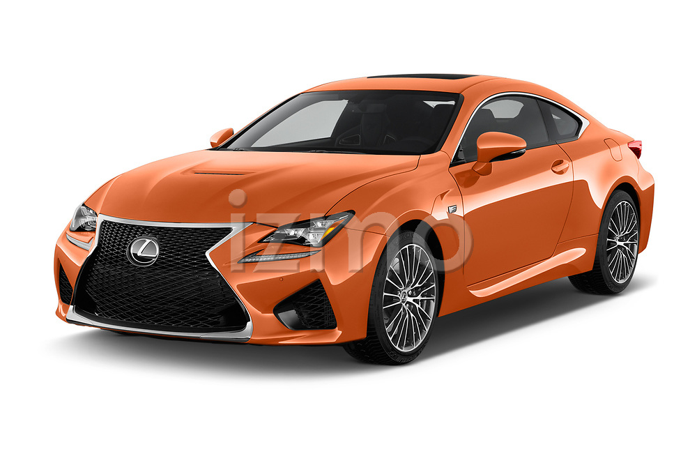 2017 Lexus RC F-GT 2 Door Coupe Angular Front stock photos of front three quarter view