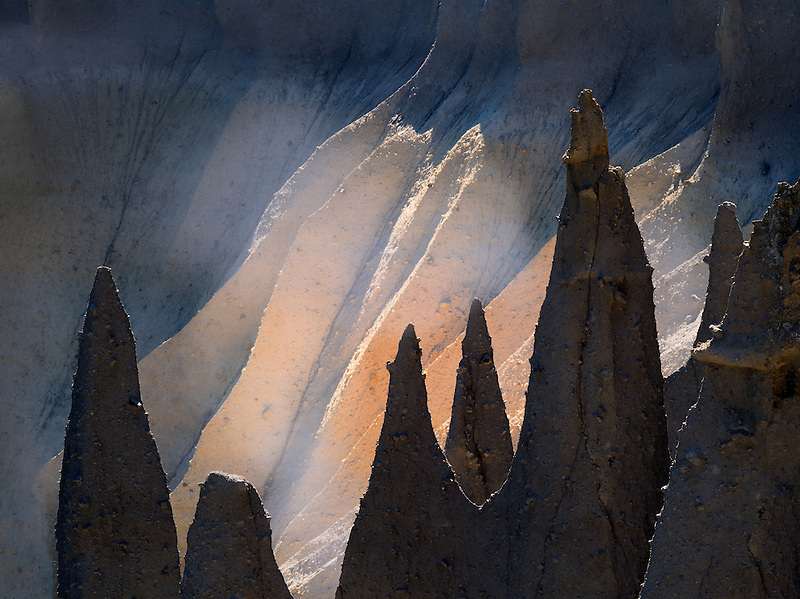 Close up of Pinnacle. Crater Lake National Park, Oregon