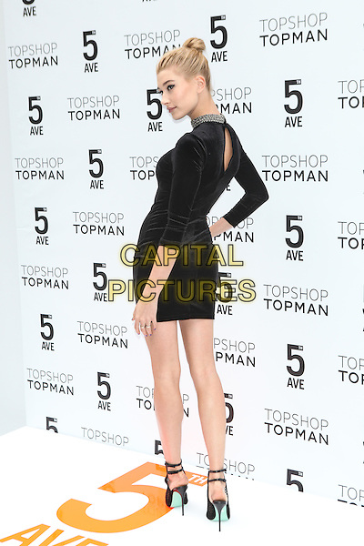 NEW YORK - November 5: Hailey Baldwin attends the Topshop Topman New York City Flagship Grand Opening on November 5, 2014 in New York City. <br /> CAP/MPI/MPI99<br /> &copy;MPI99/MPI/Capital Pictures