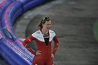 SCHAATSEN: GRONINGEN: Sportcentrum Kardinge, 18-01-2015, KPN NK Sprint, Lotte van Beek, ©foto Martin de Jong