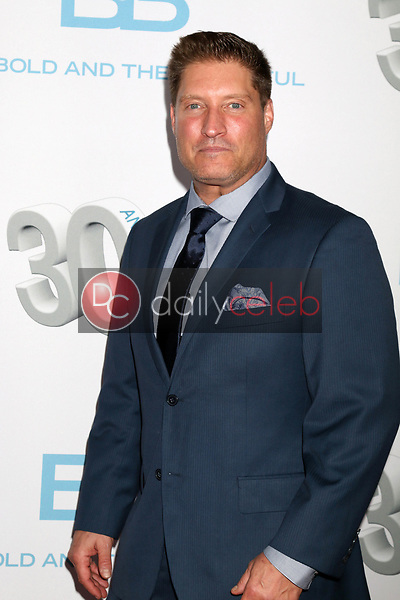 "Sean Kanan<br /> at the ""The Bold and The Beautiful"" 30th Anniversary Party, Clifton's Downtown, Los Angeles, CA 03-18-17<br /> David Edwards/DailyCeleb.com 818-249-4998"
