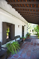 Serrano Adobe Walkway at Heritage Hill Historical Park Lake Forest