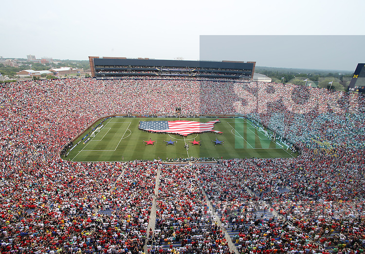A general view of Michigan Stadium<br /> <br /> - International Champions Cup 2014 - Manchester United vs Real Madrid - Michigan Stadium - Ann Arbor - USA - 2nd August 2014 - Picture David Klein/Sportimage