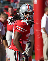 13 October 2007: Ohio State running back Maurice Wells..The Ohio State Buckeyes defeated the Kent State Golden Flashes 48-3 on  October 13, 2007 at Ohio Stadium, Columbus, Ohio.