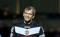 Goalkeeper Roy Carroll of Notts County during the Sky Bet League 2 match between Wycombe Wanderers and Notts County at Adams Park, High Wycombe, England on 15 December 2015. Photo by Andy Rowland.