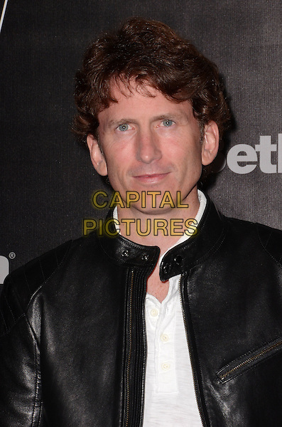 05 November - Los Angeles, Ca - Todd Howard. Arrivals for the official launch party of the video game &quot;Fallout 4&quot; held at a private location in Downtown LA.  <br /> CAP/ADM/BT<br /> &copy;BT/ADM/Capital Pictures