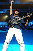 Tom Morello Guitarist of Audioslave     .Photo Credit: Eddie Malluk/Atlasicons.com