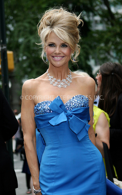 WWW.ACEPIXS.COM . . . . .  ....June 12 2011, New York City....Christie Brinkley arriving at the 65th Annual Tony Awards at the Beacon Theatre on June 12, 2011 in New York City.....Please byline: NANCY RIVERA- ACEPIXS.COM.... *** ***..Ace Pictures, Inc:  ..Tel: 646 769 0430..e-mail: info@acepixs.com..web: http://www.acepixs.com