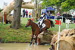 6th May 2017, Louise Harwood riding Whitson during the Cross Country phase of the 2017 Mitsubishi Motors Badminton Horse Trials, Badminton House, Bristol, United Kingdom. Jonathan Clarke/JPC Images