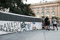 Revolution Square  in Bucharest, Romania