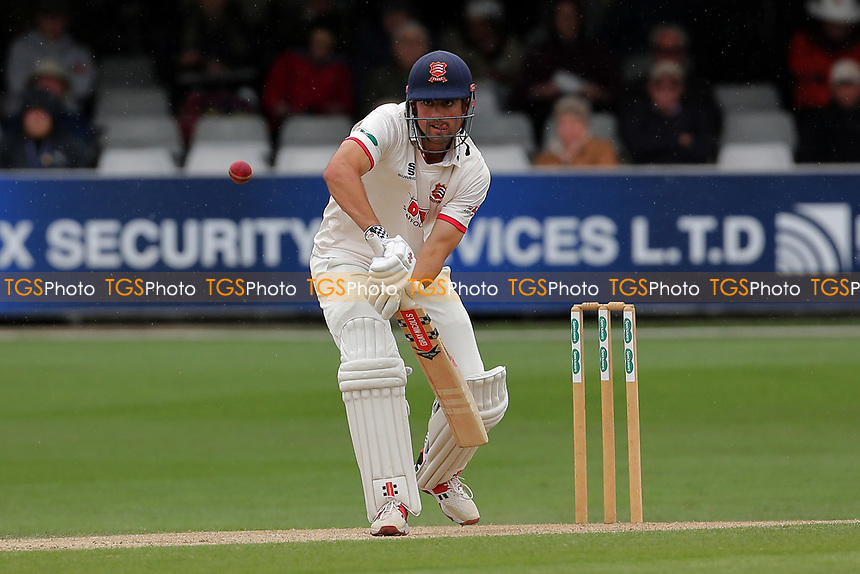 Alastair Cook in batting action for Essex during Essex CCC vs Kent CCC, Specsavers County Championship Division 1 Cricket at The Cloudfm County Ground on 29th May 2019