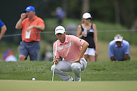 Ryan PALMER (USA) on the 1st green during Thursday's Round 1 of the 2014 PGA Championship held at the Valhalla Club, Louisville, Kentucky.: Picture Eoin Clarke, www.golffile.ie: 7th August 2014