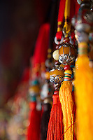 Prayer beads for sale in the Jokhang, Tibet