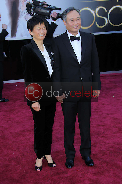 Ang Lee<br /> at the 85th Annual Academy Awards Arrivals, Dolby Theater, Hollywood, CA 02-24-13<br /> David Edwards/DailyCeleb.com 818-249-4998