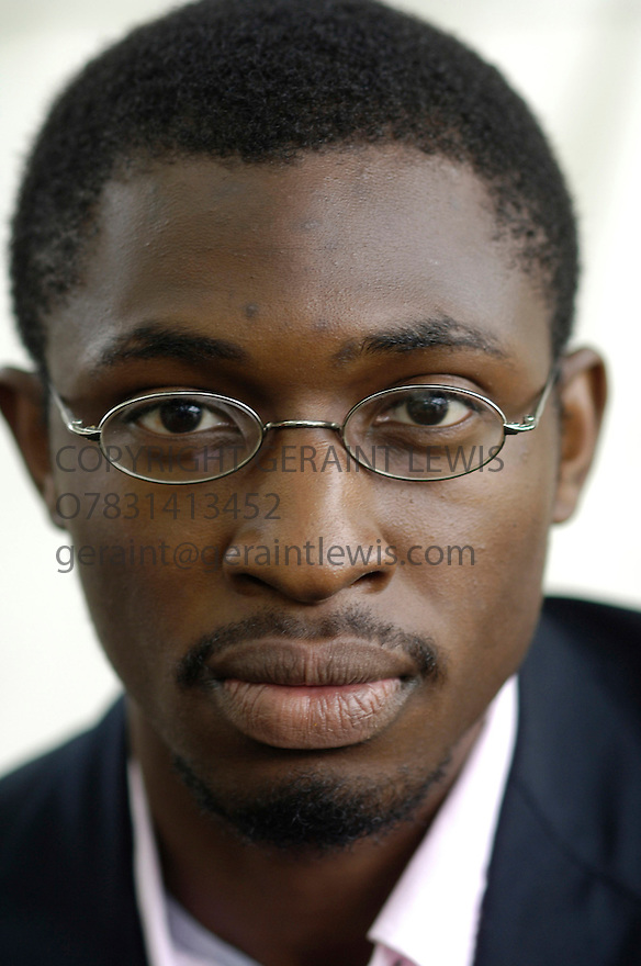 Uzodinma Iweala,,novelist who wrote Beasts of No Nation. CREDIT Geraint Lewis
