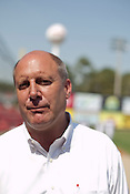 General Manager Joe Kremer. The 2010 Carolina Mudcats during a practice at Five County Stadium in Zebulon, North Carolina, April 6, 2010. .