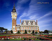 Tom Mackie, LANDSCAPES, photos, Calais Town Hall, Calais, France, GBTM871063-1,#L#