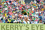 Anthony Maher Kerry  in action against  Cork in the Munster Senior Football Final at Fitzgerald Stadium on Sunday.
