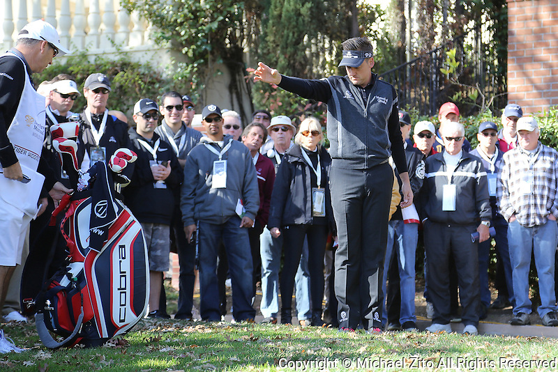 12/05/13 Thousand Oaks, CA:  Ian Poulter during   the first round of the 2013 Northwestern Mutual World Challenge, benefitting the Tiger Woods Foundation.