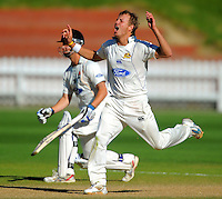 101126 Plunket Shield Cricket - Wellington v Otago
