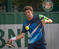 Paris, France, 28 May, 2017, Tennis, French Open, Roland Garros, Robin Haase (NED)<br /> Photo: Henk Koster/tennisimages.com