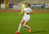 20180228 - LARNACA , CYPRUS : Spanish Olga Garcia Perez pictured during a women's soccer game between Spain and Austria , on wednesday 28 February 2018 at GSZ Stadium in Larnaca , Cyprus . This is the first game in group B for Spain and Austria during the Cyprus Womens Cup , a prestigious women soccer tournament as a preparation on the World Cup 2019 qualification duels. PHOTO SPORTPIX.BE | DAVID CATRY