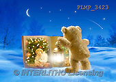 Marek, CHRISTMAS ANIMALS, WEIHNACHTEN TIERE, NAVIDAD ANIMALES, teddies, photos+++++,PLMP3423,#Xa# in snow,outsite,